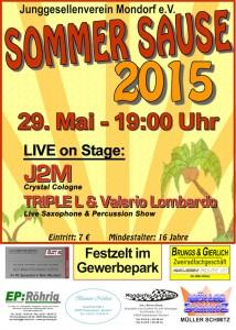 Sommer Sause Plakat v1 kl
